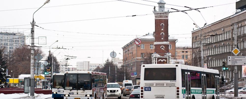 В День города омские автобусы