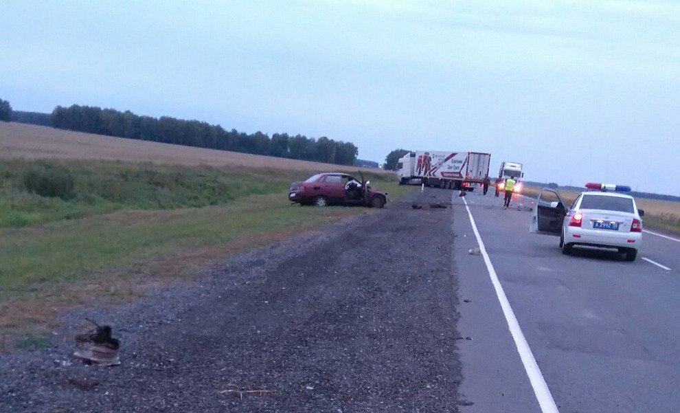 В нынешней трагедии натрассе Омск— Новосибирск виноват погибший шофёр «десятки»