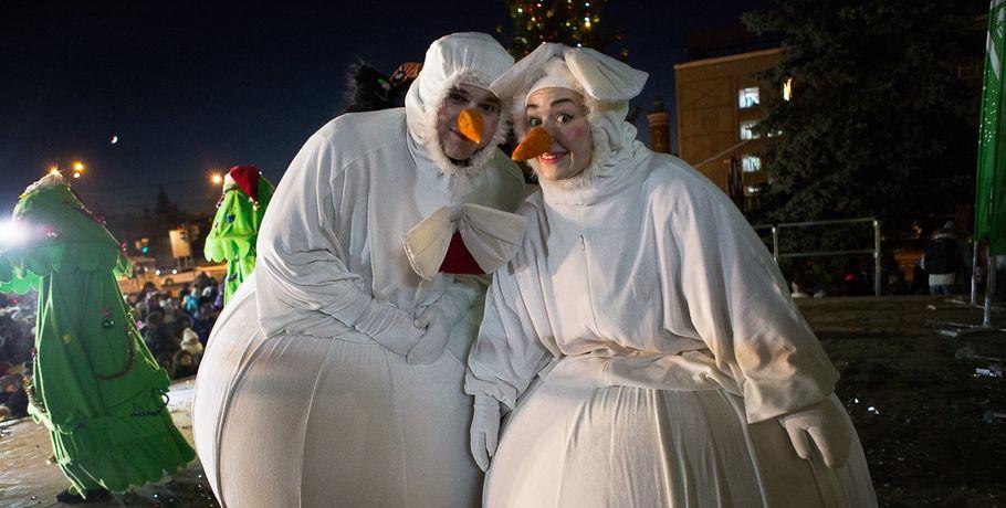 Новый год в омске картинки