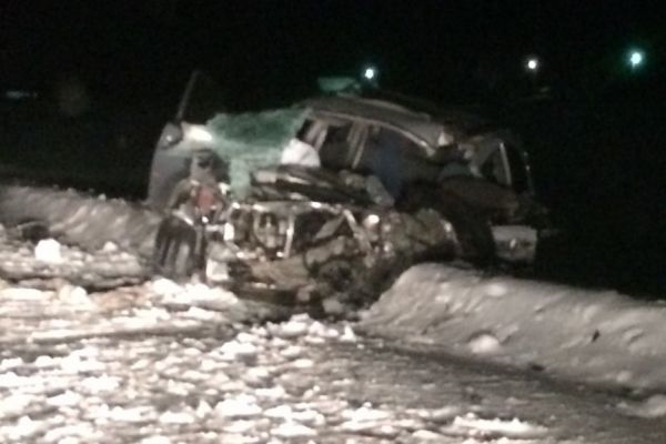 На86км дороги Омск-Муромцево-Седельниково умер шофёр автомобиля SUV