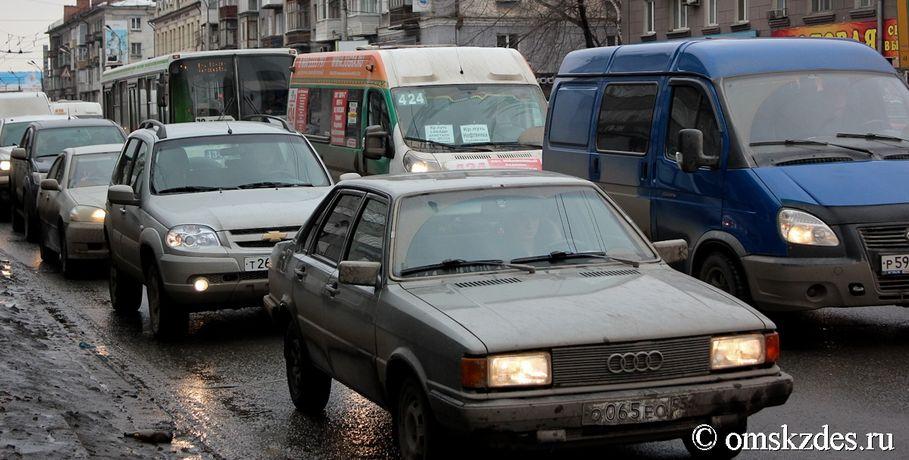 Скорость движения поКрасноярскому тракту значительно снизили