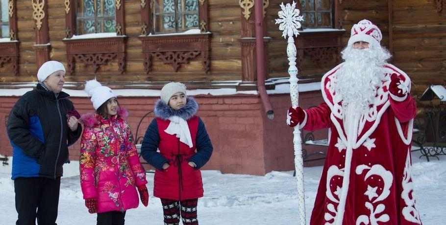 Мэрия Омска предупредила омошенниках ввиде Дедов Морозов иСнегурочек