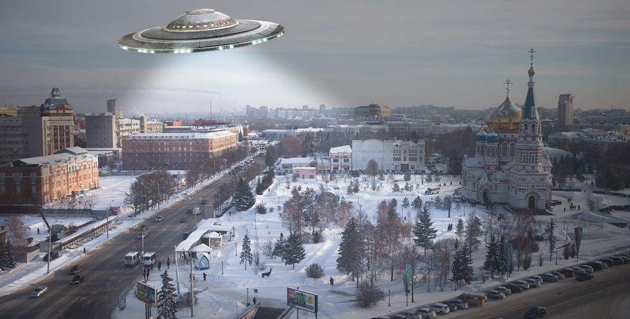 Внебе над Омском снова пролетал НЛО