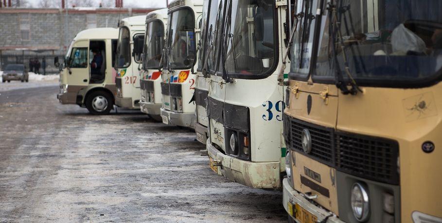 ВОмске появилось 11 легальных парковок для автобусов имаршруток