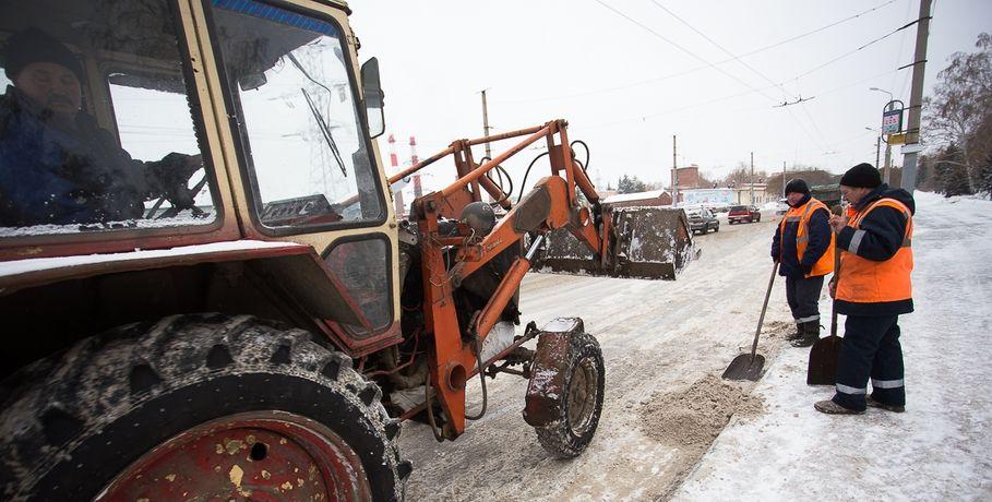 Омская мэрия потратит 67 млн напокупку снегоуборочной техники