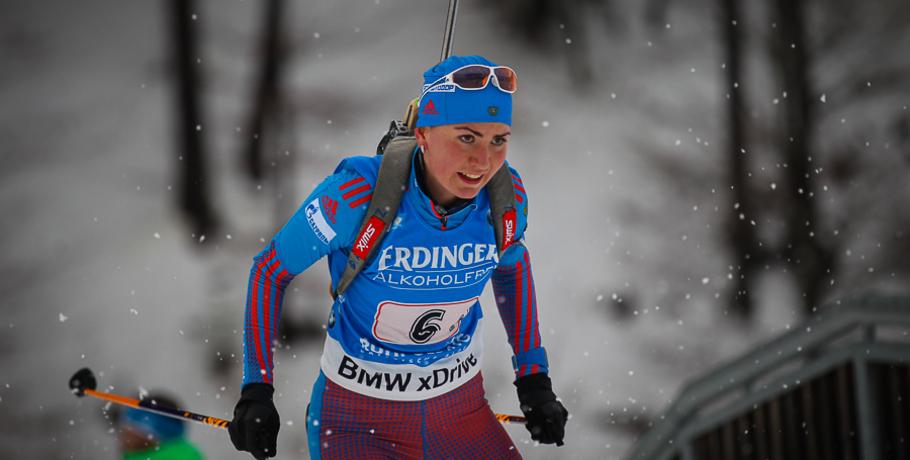 Русские биатлонистки заняли 13-е место вэстафете наэтапеКМ