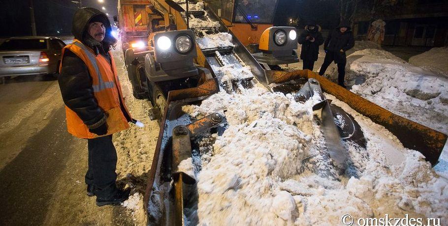 Генпрокуратура внесла представление мэру Омска занеубранный снег сулиц