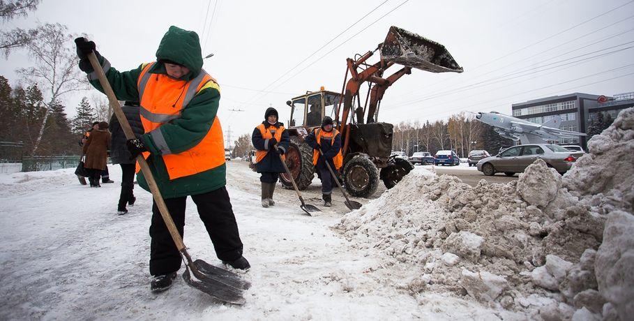 Омская мэрия заплатит москвичам запомощь вуборке снега