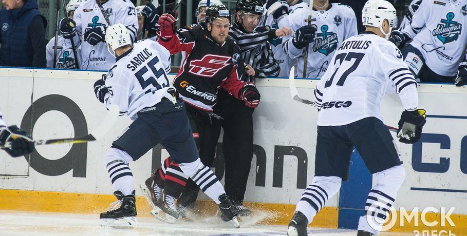 Губерниев прокомментирует матч между «Авангардом» и«Адмиралом» вплей-офф