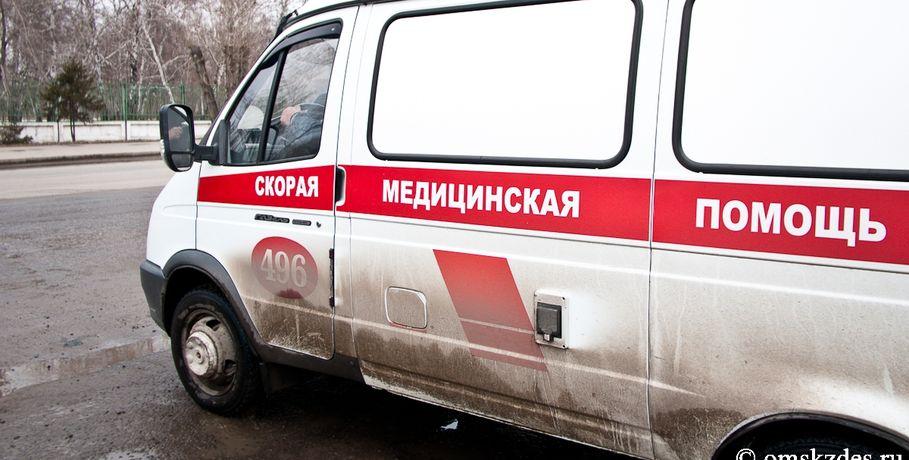 Двухлетний ребёнок пострадал вДТП под Омском