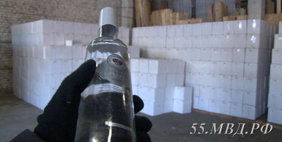 Милиция сорвала реализацию 20 тыс. бутылок контрафактного алкоголя