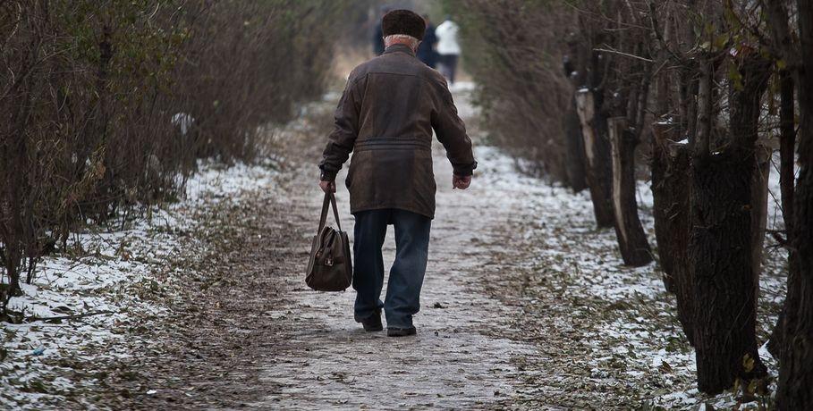 ВОмске объявили штормовое предупреждение из-за гололёда
