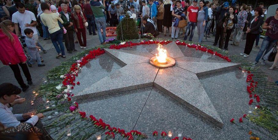 ВОмске власти из-за нехватки денежных средств погасили Вечный огонь