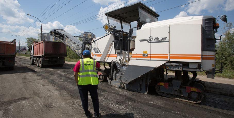 ВОмске уже начали чинить «убитые» дороги