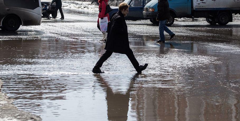Апрель принесёт вОмск снег ипохолодание