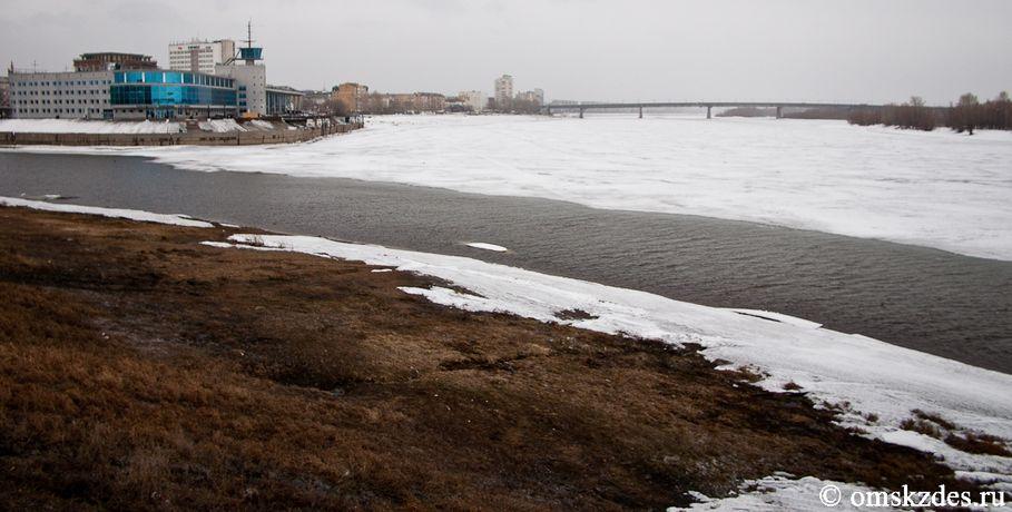 20апреля вОмской области предполагается ледоход