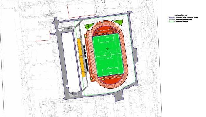 Практически 170 млн руб. истратят нареконструкцию стадиона СибГУФК вОмске