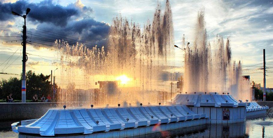 ВОмске заработали все фонтаны