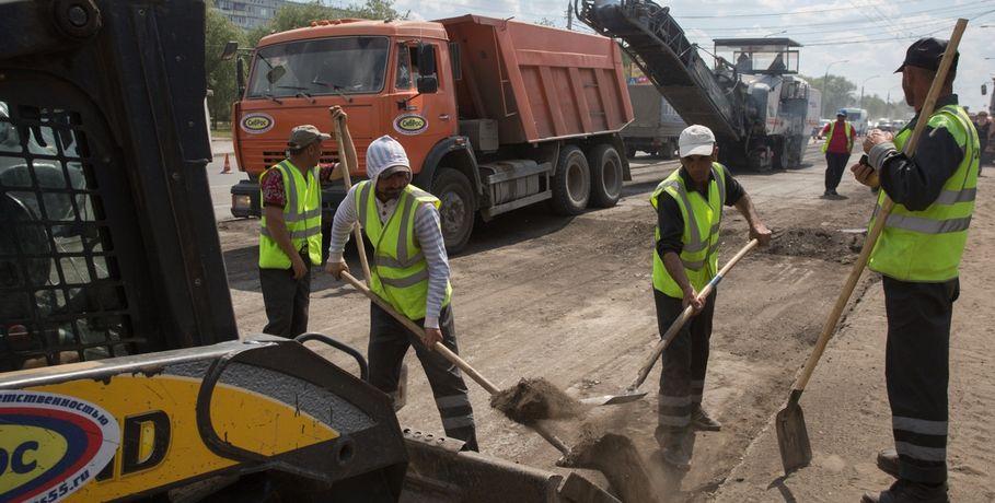 Первой отремонтированной дорогой этим летом вОмске будет Красноярский тракт