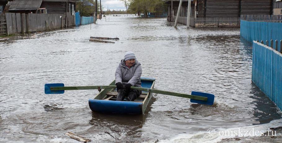 ВОмской области сняли режим ЧС— пик паводка прошел