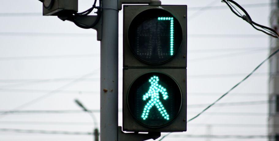 ВОмске заработал светофор напересечении Химиков, Поселковой иПартсъезда
