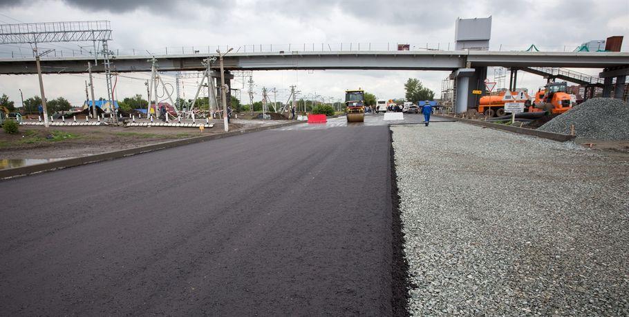 Закончился ремонт на2-й Солнечной улице вОмске