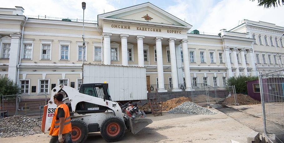 Движение вдоль улицы Ленина вОмске неуспеют открыть к1сентября