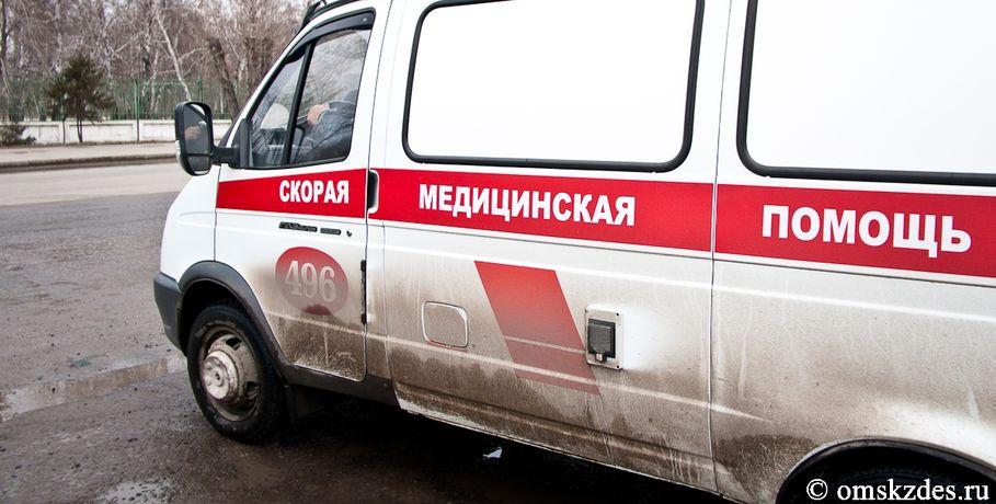 ВОмске иностранная машина протаранила «скорую»: шестеро пострадавших