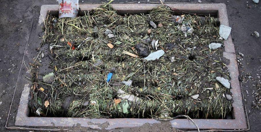 Омск встретит зиму счистыми ливневками