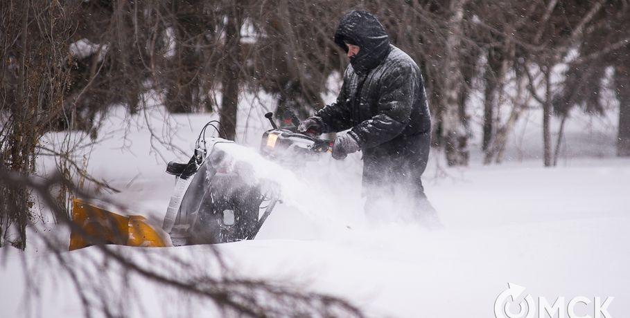 Основные автодороги Омска будут чистить отснега по-новому