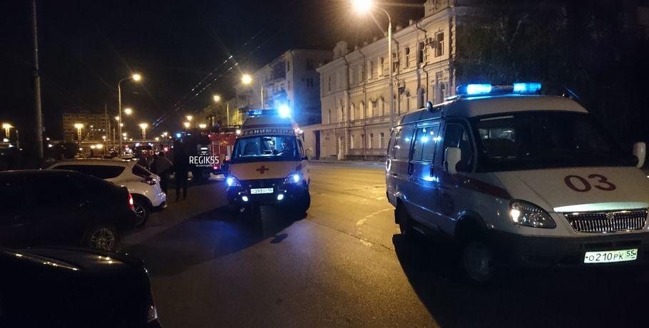 Вцентре Омска массовое ДТП сучастием 2-х такси
