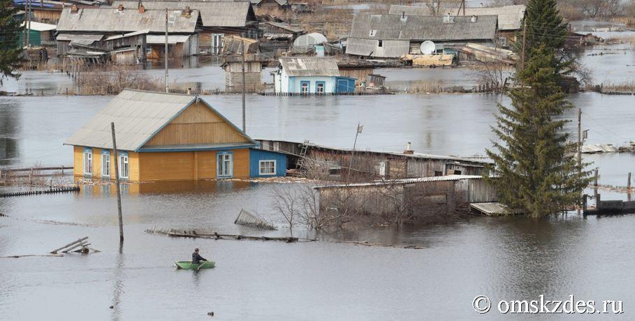 СП: Омская область необеспечила своевременную ликвидацию последствий паводка 2016 года