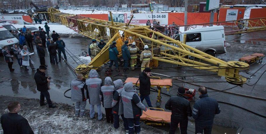 Родственники погибших при падении башенного крана вОмске отсудили компенсации