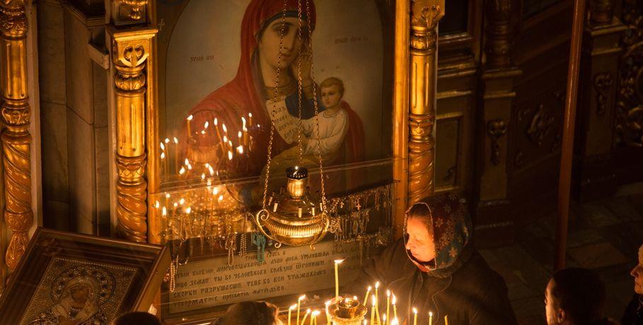 Омичи построили храм вчесть Святого Архангела Михаила