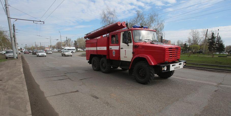 Насевере Омской области напожаре погибли трое мужчин