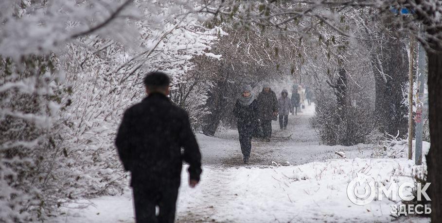 ВОмск ввыходные придут 30-градусные морозы