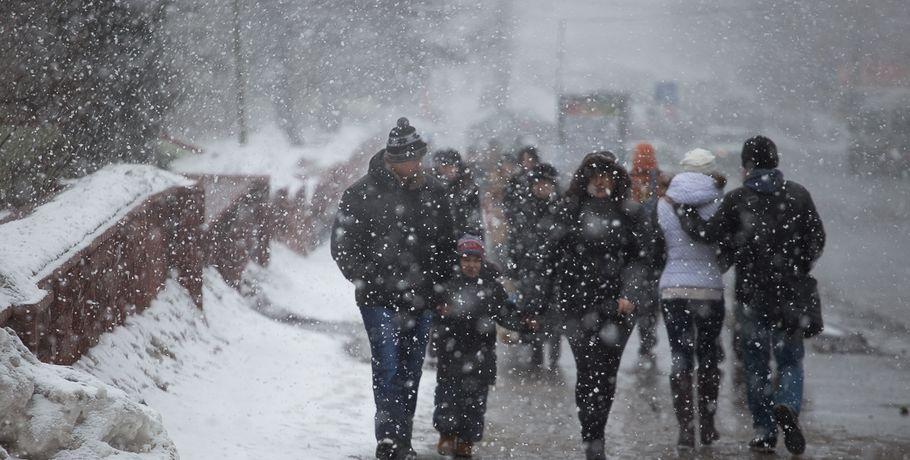 Всамом начале следующей недели вОмской области ожидаются снегопады
