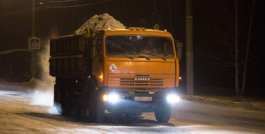 Вновогодние праздники омские дорожники будут работать круглые сутки