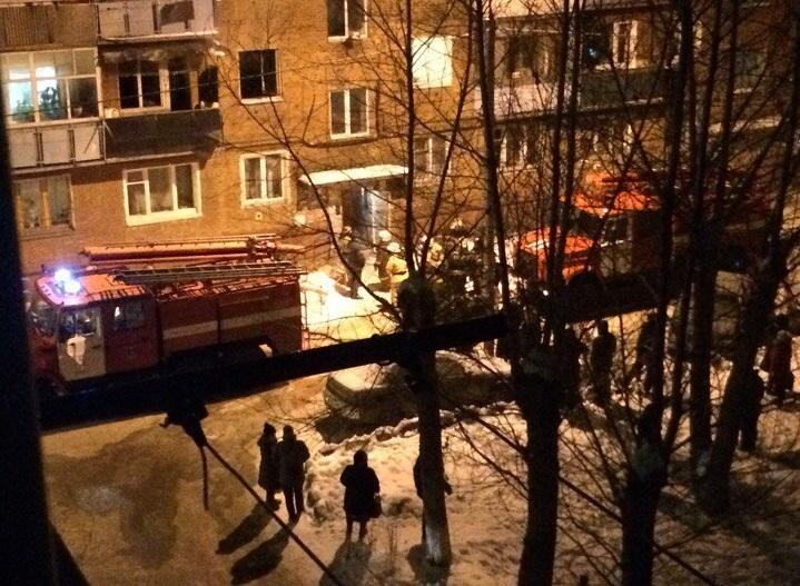 Свидетели докладывают опогибших вовремя пожара вомской пятиэтажке