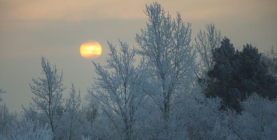 ВОмской области ожидаются морозы под
