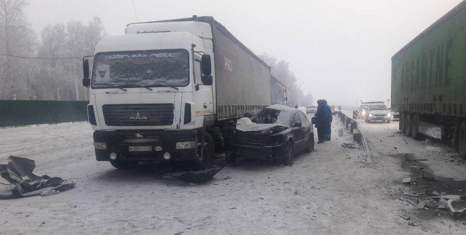Две девушки погибли вДТП сгрузовиками вИшимском районе