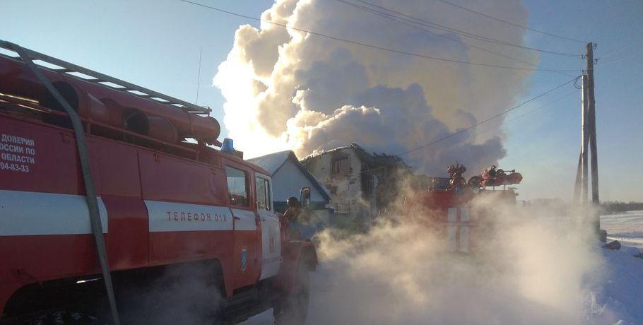 ВОмске объявили траур подетям, погибшим впожаре