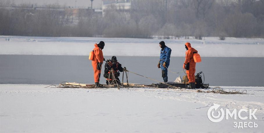 Омские специалисты признали неопасной аномальную полынью наИртыше