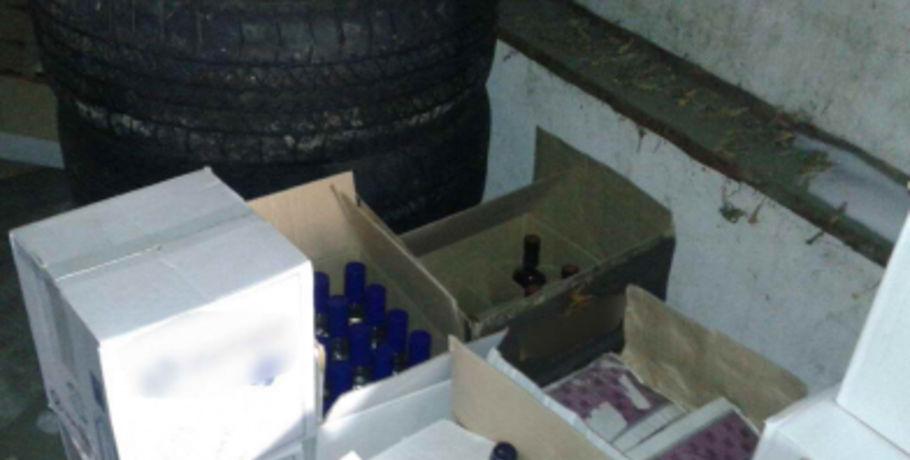 Омские полицейские остановили реализацию нелегального алкоголя наСеверных
