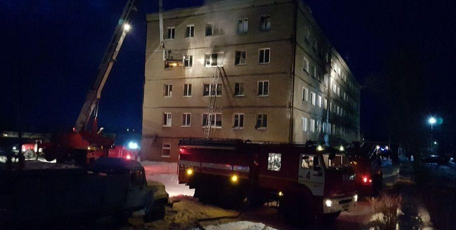 Уголовное дело отрагическом пожаре вобщежитии под Омском передали всуд