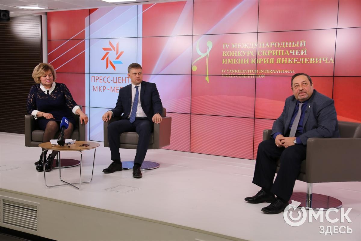 Спиваков не будет играть для омичей на своем конкурсе