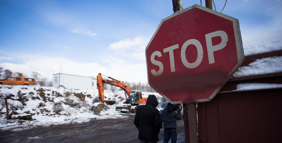 ВОмске ограничат движение наКрасном Пути