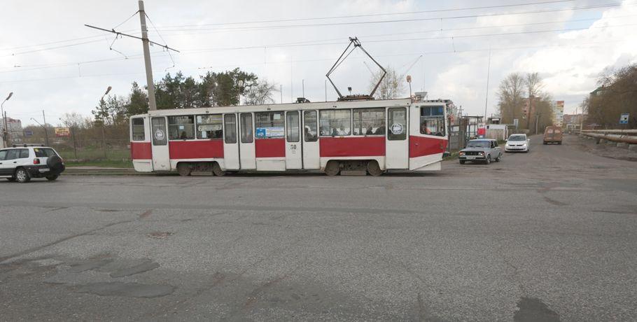 В Омске из-за ремонта на путях изменится маршрут трамваев