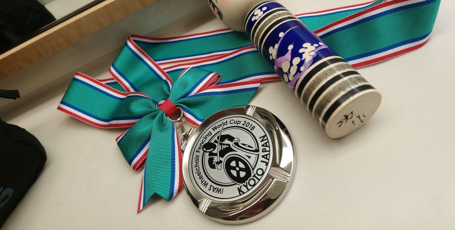 Омский паралимпиец завоевал серебро на соревнованиях в Японии #Спорт #Новости
