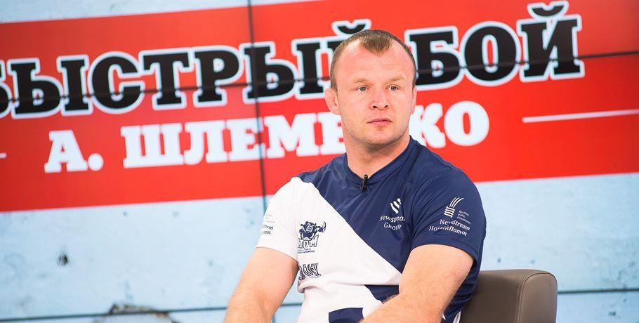 Александр Шлеменко задушил лучшего средневеса Европы #Спорт #Новости